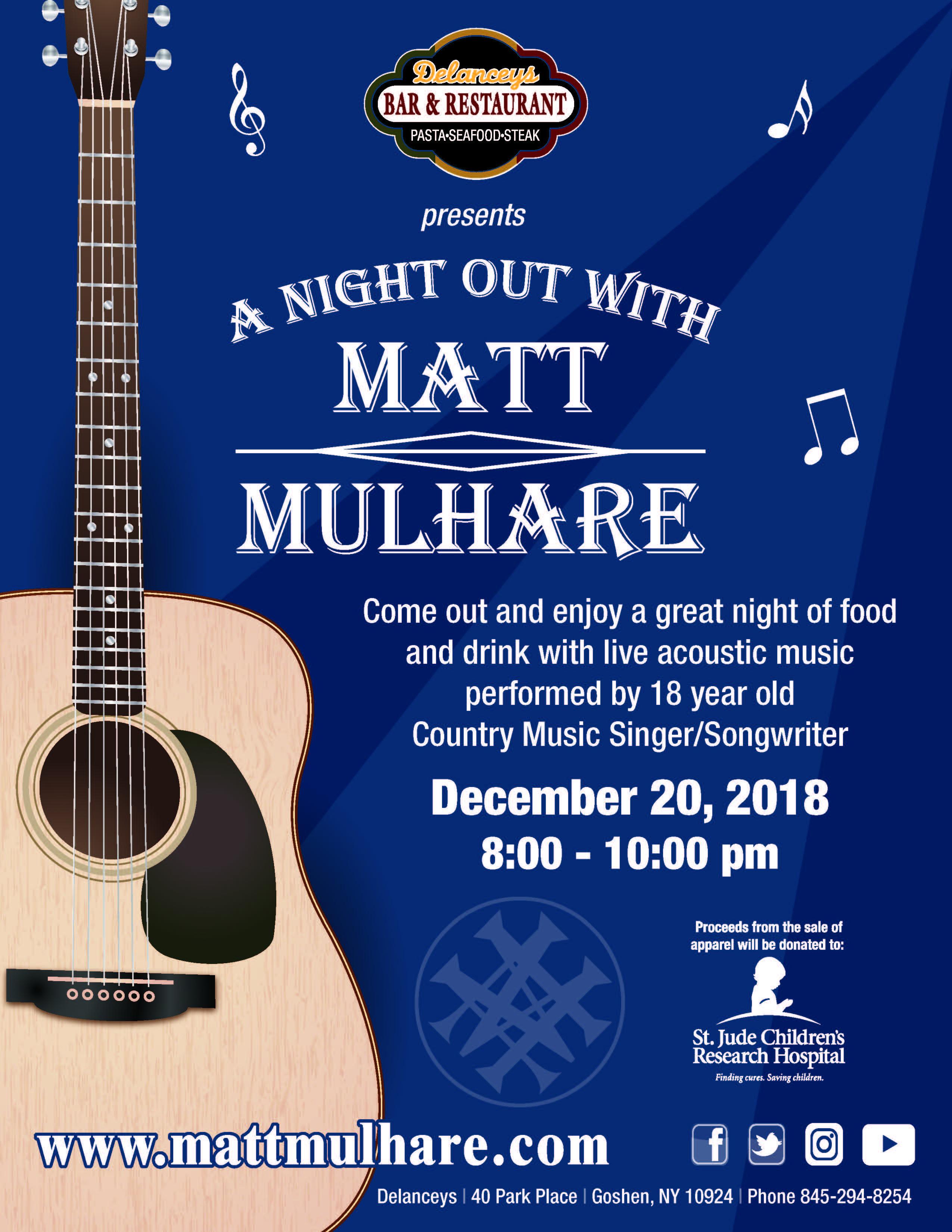 Matt Mulhare_Delanceys Goshen NY 12-20-18